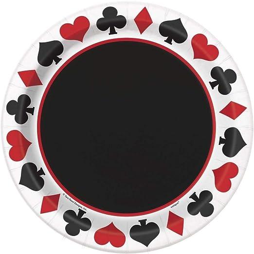Casino Party - Vajilla y Decoraciones (cumpleaños ...