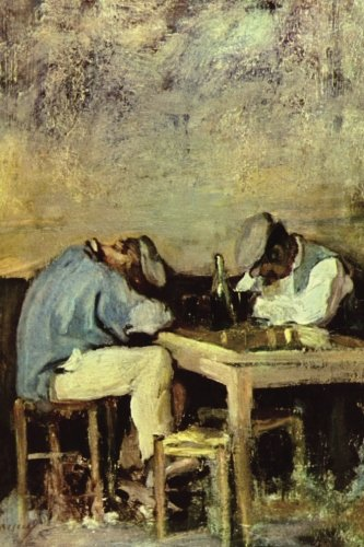"""Two Drunks"" by Nicolae Grigorescu: Journal (Blank / Lined) (Art of Life Journals) PDF"