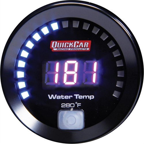 Quickcar Racing Products 67-006 Digital Water Temperature Gauge