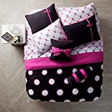 VCNY Home Sophie Polka Dot 10 Piece Bed-in-a-Bag