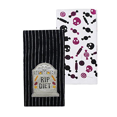 Celebrate Together Halloween Kitchen Dish Towel Set of