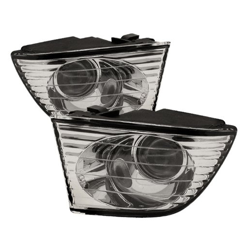 01-05 Lexus IS300 OEM Style Clear Fog Lights (No Switch)