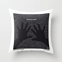 CqxinFuxi Throw Pillow Case No266 My POLTERGEIST minimal movie poster Washable Removable Pillow Cover For Home & Hotel Collection Size 18 x 18 Inch