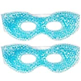 Therapeutic Spa Gel Bead Eye Mask - Hot Cold Reusable Eye Ice Packs