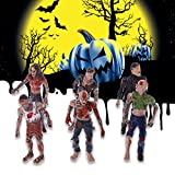 sunhoyu Kids Toys Games,6Pcs Walking Corpses Model Terror Zombies Kids Children Action Figure Toys Dolls Christmas