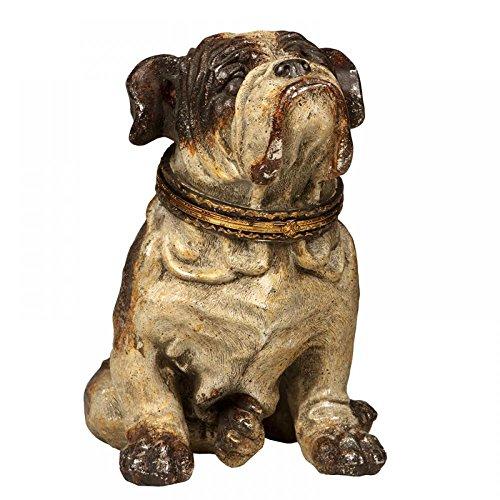 Escultura Decorativa de Resina Cachorro Oscar