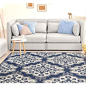 Amazon.com: HOMEGNOME Indoor Outdoor Moroccan Trellis Rug 8 ...