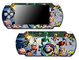 Toy Story 1 2 3 4 Buzz Lightyear Woody Mr Potato Head Rex Video Game Vinyl Decal Skin Sticker Cover for Sony PSP Playstation Portable Slim 3000 Series System
