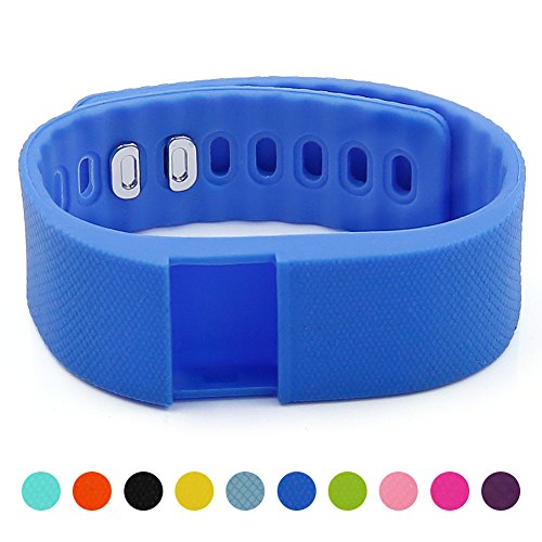 Soft Silicone Band for Teslasz Fitness Tracker in 6 Colors f