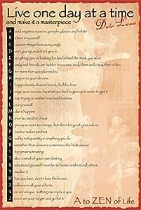 GB Eye Dalai Lama a to Zen Poster