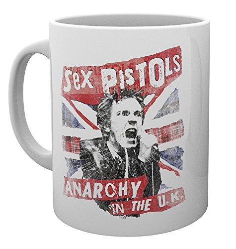 (GB eye LTD, Sex Pistols, Union Jack, Mug, Ceramic Various, 15 x 10 x 9 cm)