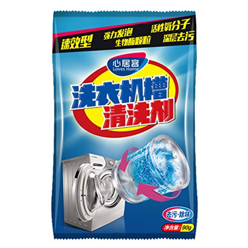 CMrtew 1pcs Washing Machine Cleaner Descaler Deep Cleaning Remover Deodorant Durable for Home