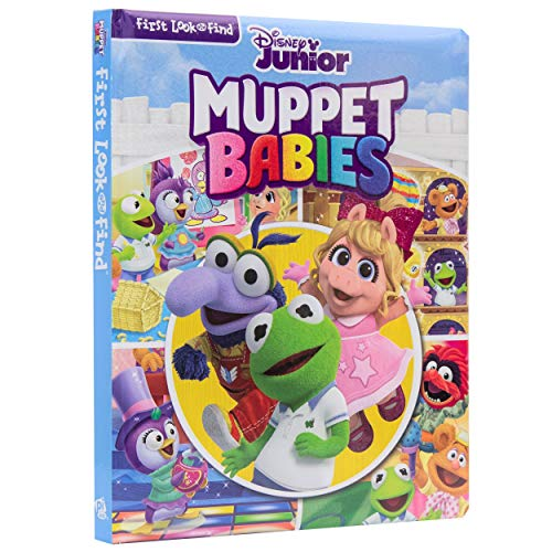Disney Junior - Muppet Babies My First Look and Find Activity Book - PI Kids