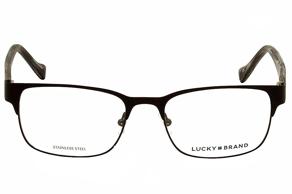 27547ccd80c LUCKY BRAND Eyeglasses D301 Black at Amazon Men s Clothing store