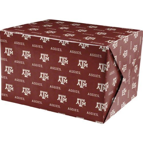 A&m Gifts (NCAA Texas A&M Aggies Wrapping Paper)