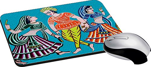 Mesleep Rural Dance Mouse Pad Non Slip Rubber Mat Wrist Comfort Computer Or Laptop Mousepad