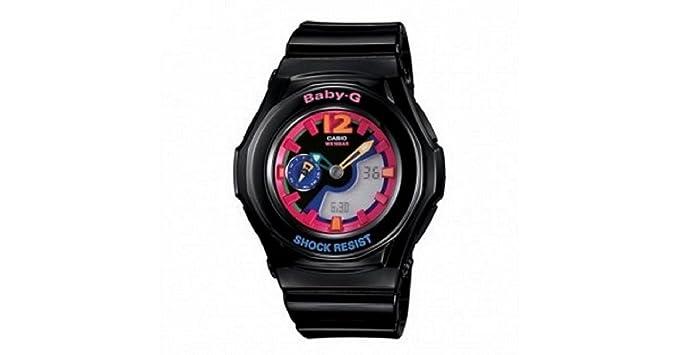 Casio Mujer BGA141 - 1B2 Baby-G NEGRO analógico Digital reloj deportivo bga-141 edición limitada: CASIO: Amazon.es: Relojes