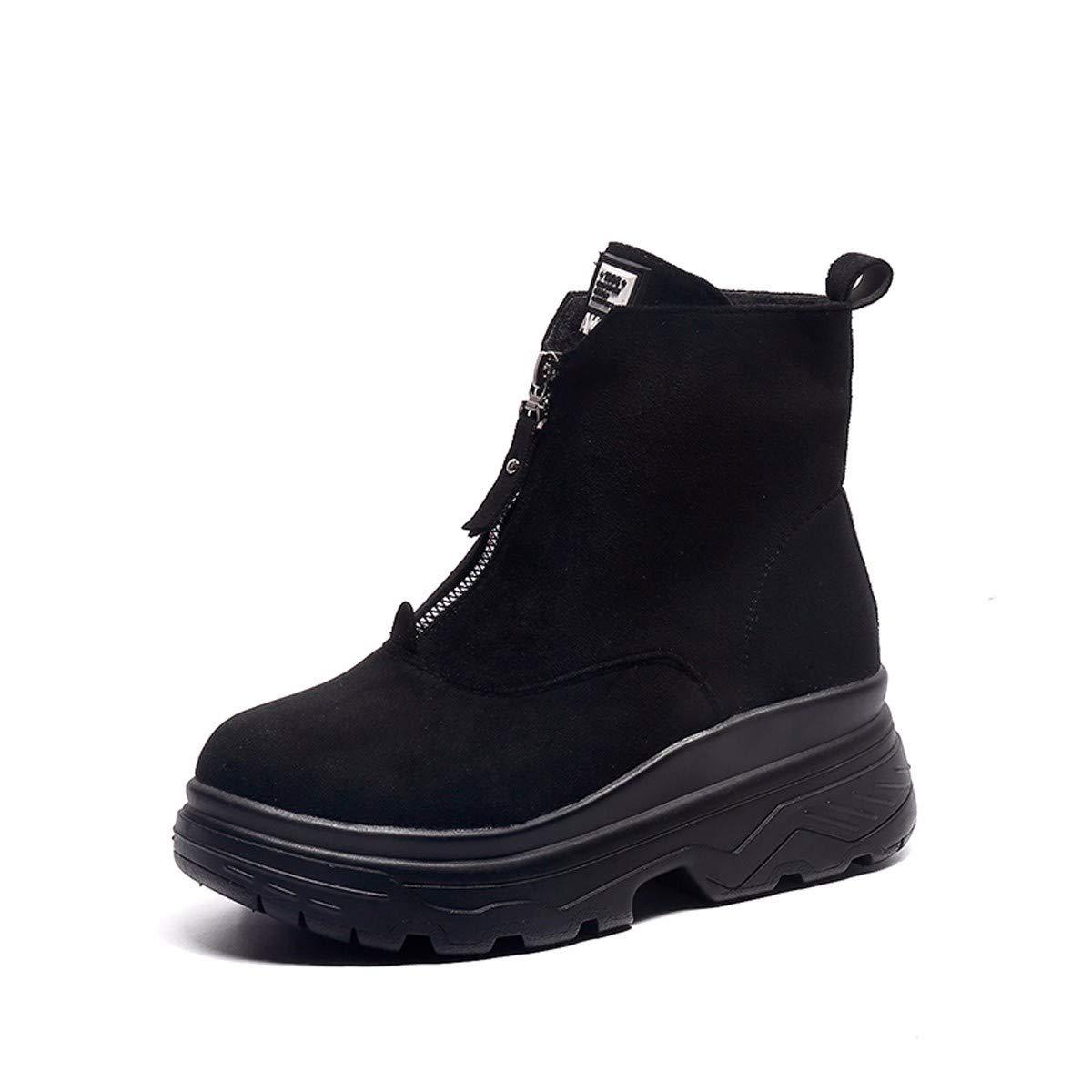 KPHY Damenschuhe Frauen Und Schuhe Im Winter Warm Mit Mit Mit Baumwolle Hohe Schuhe Dicke Zusammenbrach Wild Und Stiefel. 41df30