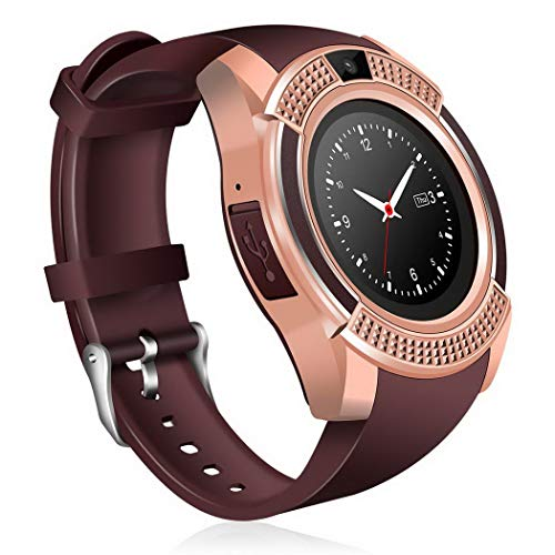 Bluetooth Smart Watch,KOKOBUY Fitness Pedometer Sleep Monitor Tracker SD Card SIM Card Sports Casual Watch