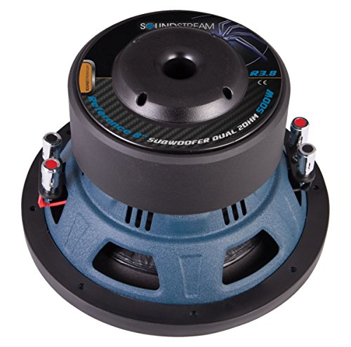 Soundstream Reference R3.8 Woofer - 500 W RMS - 1000 W PMPO