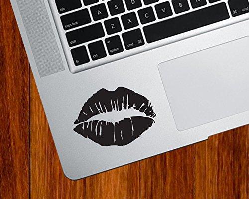 Hot Lips Kiss Mark - Trackpad   Tablet   Computer - Vinyl Decal Sticker © YYDC (2.5