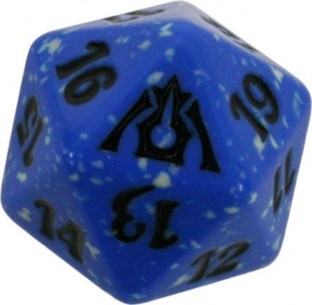 MTG Spindown D20 Life Counter - Dragon's Maze Dimir