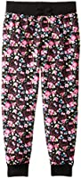 Hello Kitty Girls' Flower French Terry Pant