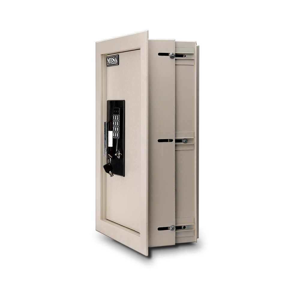 Mesa Safe Company Model MAWS2113E Electronic Wall Safe, Cream by Mesa Safe (Image #2)