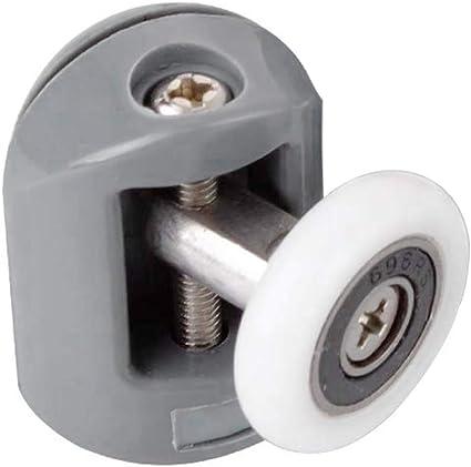cococity 8 piezas de rodillos para puerta de ducha/corredores ...