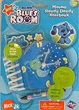 : Nick Jr - Blue's Room - MOONA HANDY DANDY NOTEBOOK w Bonus Glow in the Dark Stickers!