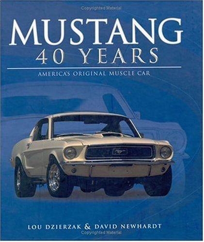 Mustang 40 Years pdf epub