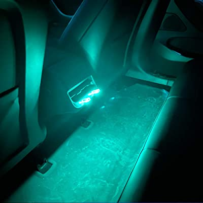 Tesla Model 3 Neon Light USB Ambient LED Colored Backseat Lighting 2 PCS: Automotive [5Bkhe0804961]