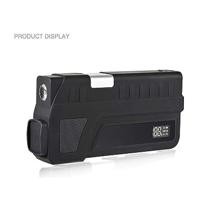ASDI 1000A 18000Mah Coche Portátil Jump Starter, Batería De Emergencia Booster Pack con Doble Salida