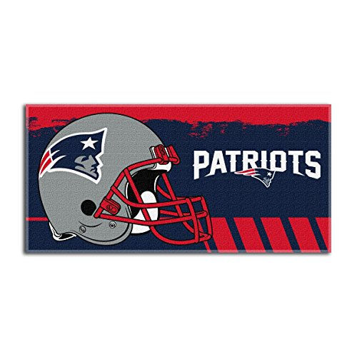 (The Northwest Company NFL New England Patriots Game Plan Oversized Beach Towel, 34-Inch by 70-Inch)