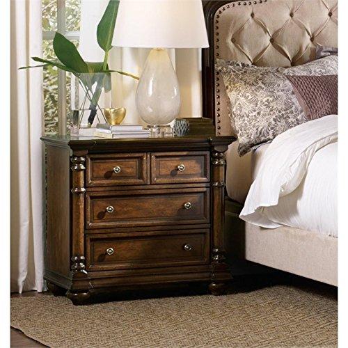 Hooker Furniture Leesburg Nightstand in Mahogany by Hooker Furniture