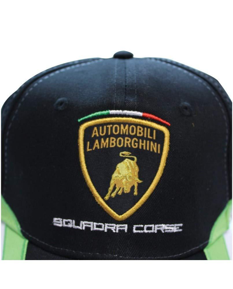 Lamborghini Kid's Squadra Corse Cap, Black by LAMBORGHINI (Image #4)