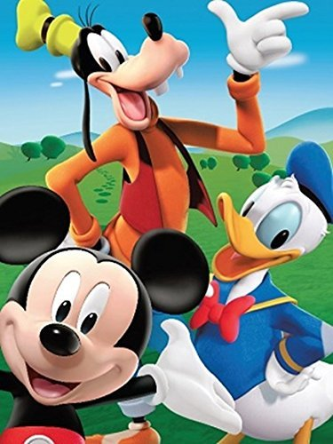 Disney Mickey Mouse and the Gang Donald Duck, Goofy, and Pluto Super Soft Plush Oversized Twin Size Sherpa Blanket by Disney