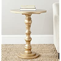 Safavieh American Homes Collection Greta Gold Accent Table