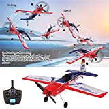 Jeeke RC Airplane Brushless Motor RC A430 2.4G 3D6G Remote Control Communication Protocol Compatible with FUTABA S-FHSS