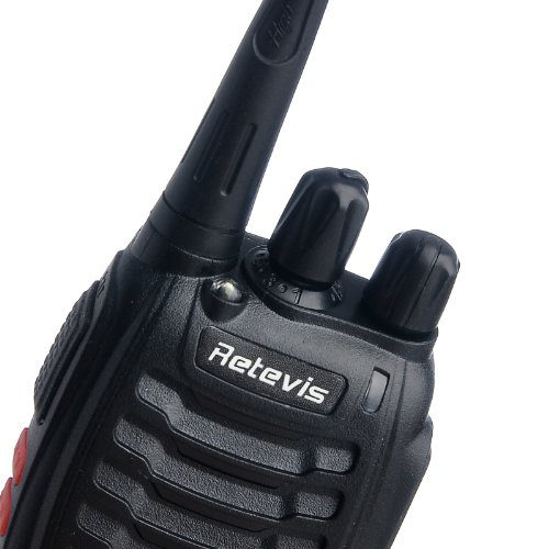 Retevis H-777 2 Way Radio UHF 400-470MHz 3W 16CH Walkie Talkies with Original Headset Belt Clip (20 Pack) and USB Programming Cable
