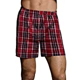 Hanes Ultimate Men's Tagless Tartan Boxers 5-Pack<>Multi<>x-Large