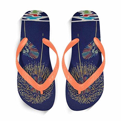 Flip Flip Women Flip Sandals Flop Stylish for Beach Flops Casual Orange Comfortable Slippers Beach Shoes Flops Summer FwFqEC8Bn