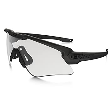 5f595c3a7262e Oakley Si Ballistic M Frame Alpha Array Black Grey + Clear  Amazon ...