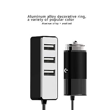 Zyx Cargador De Coche USB, Cargador USB para Múltiples ...