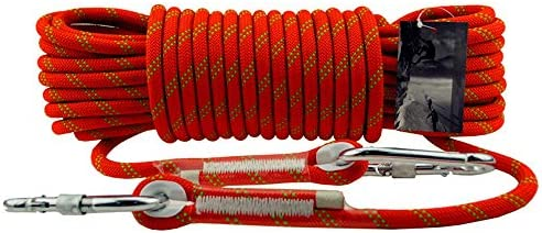 YMS- 安全ロープ、12ミリメートルのナイロン下り坂ロープ屋外クライミングロープクライミングロープ静的なロープ消防救助保護ロープ // (Color : 12mm, Size : 80m)