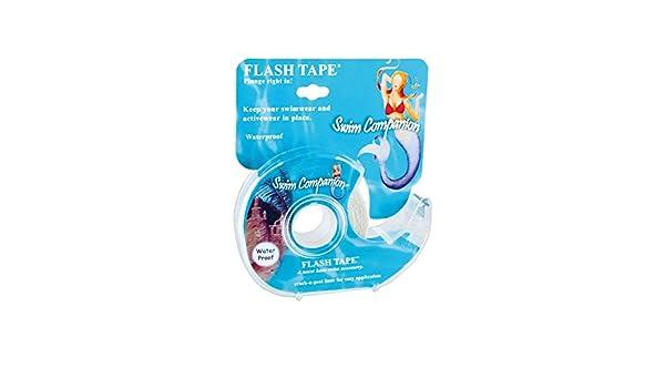 Braza Swim compañero - Flash cinta (S1015) - Blanco -: Amazon.es: Ropa y accesorios