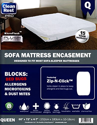 Clean Mattress Encasement Allergen Proof product image