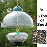 Big Top Squirrel Proof Bird Feeder with Divine Blend Seed