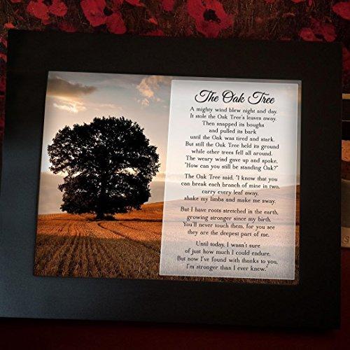 Oak Tree Plaque - Framed Oak Tree Poem