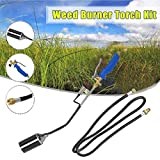 Propane Torch Weed Burner with Push Button Igniter